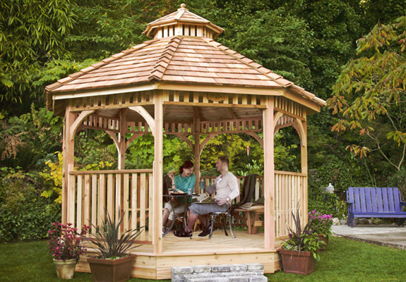 Outdoor Living 12' BaySide Panelized Octagon Gazebo
